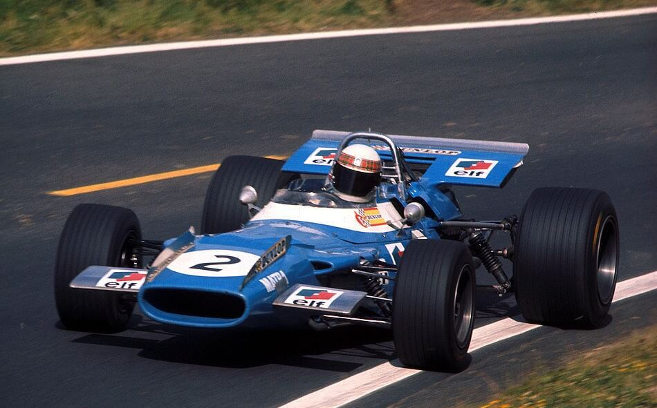 Jackie Stewart, Matra-Ford MS80, 1969
