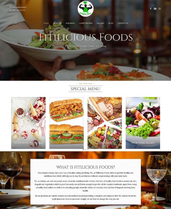 Restuarant Website