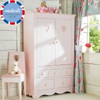 15 Collection of Childrens Pink Wardrobes