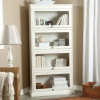 2020 Latest White Bookcases With Doors