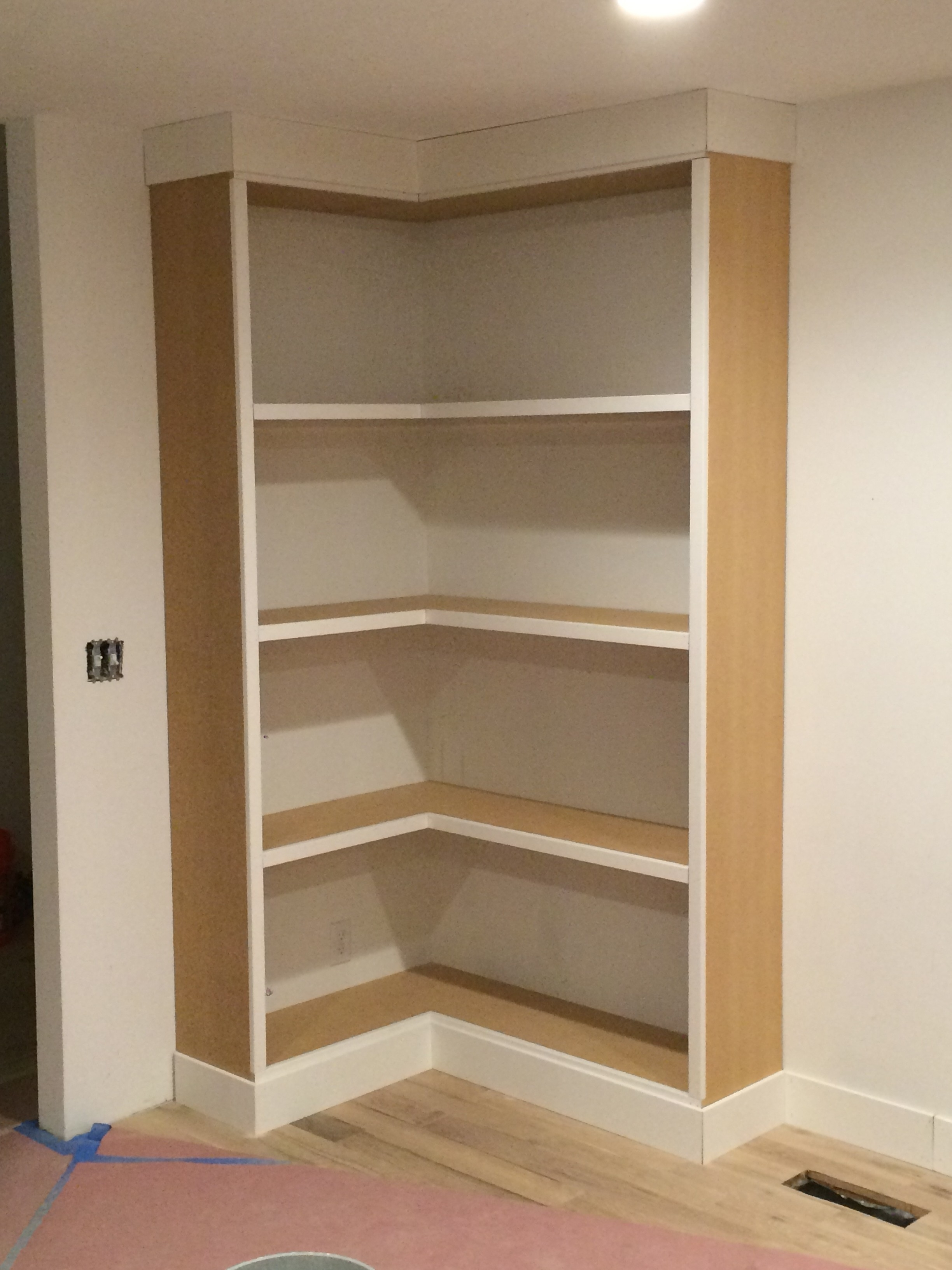 The Best Diy Built In Bookcases