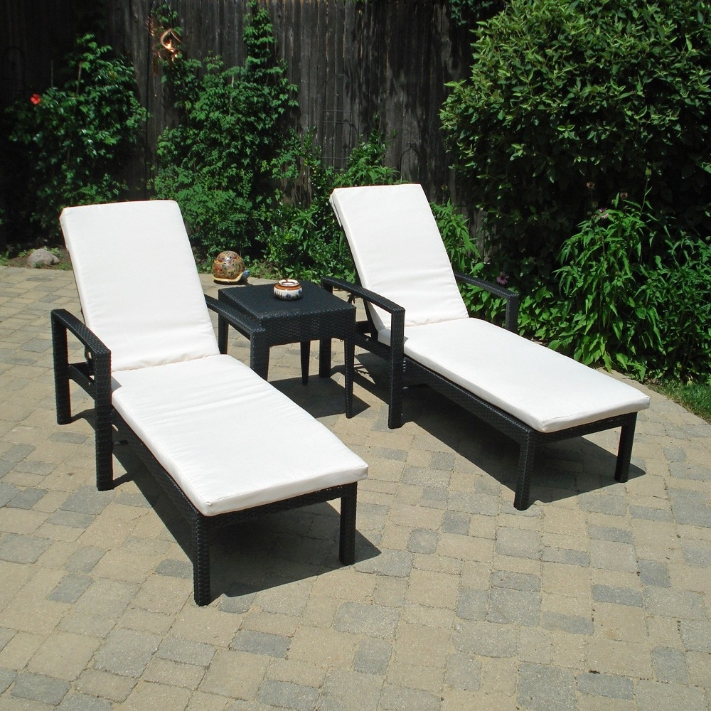 15 Ideas of Outdoor Patio Chaise Lounge Chairs