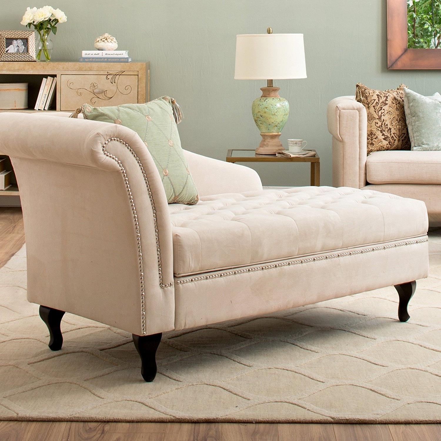 chaise chair for bedroom staples osgood in chic reading corner is filled