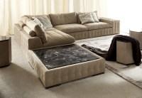 Down Feather Sectional Sofa | Baci Living Room