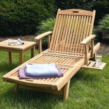 Collection Of Garden Chaise Lounge Chairs