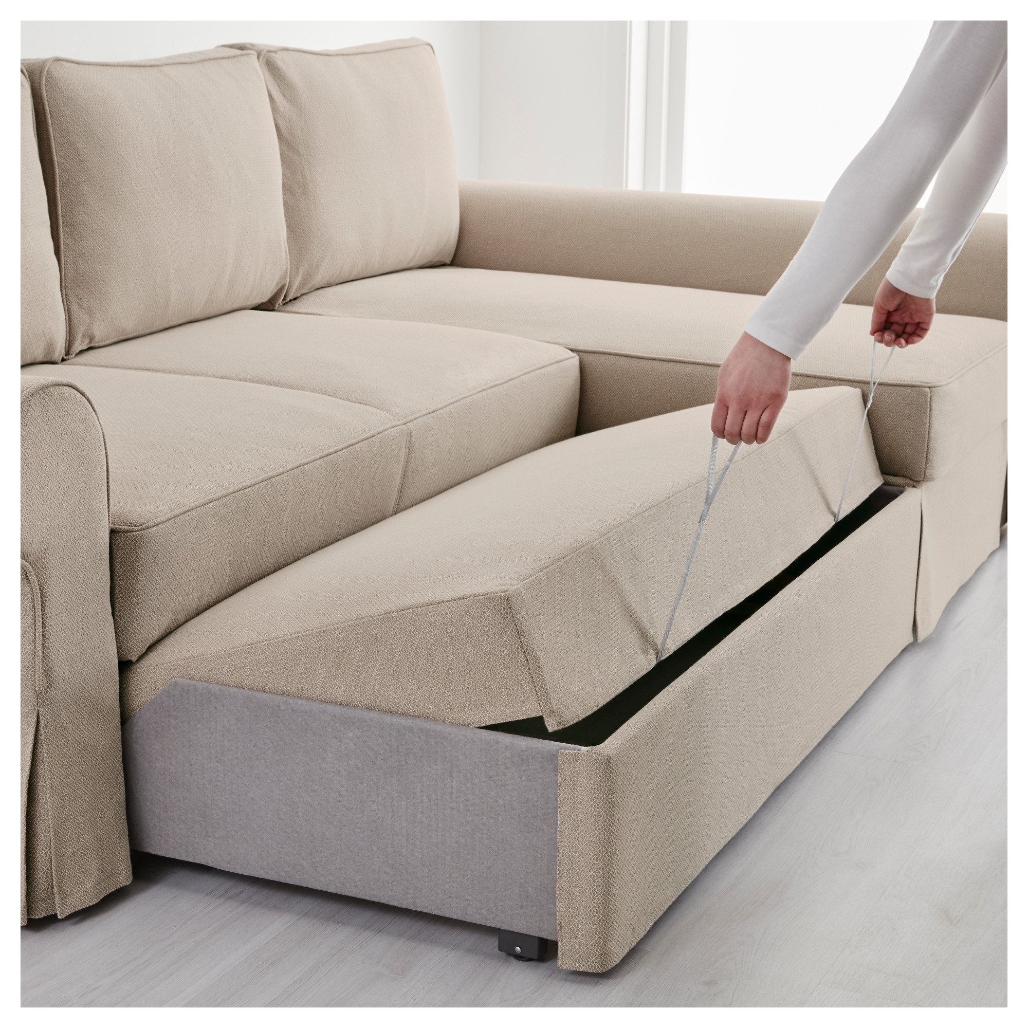 ps sofa bed review single seater beds con chaise longue ikea excellent nockeby