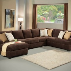 3 Piece Microfiber Sectional Sofa With Chaise Company Yorba Linda 15 Photos Sofas