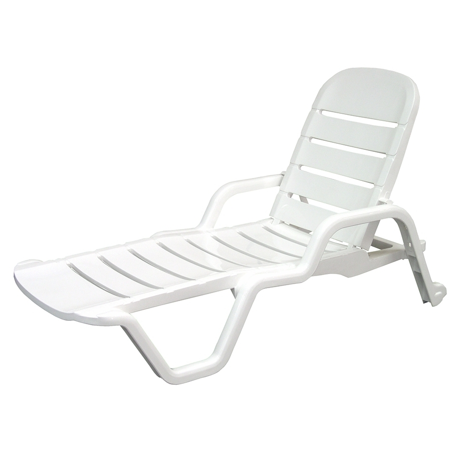2018 Latest White Outdoor Chaise Lounge Chairs