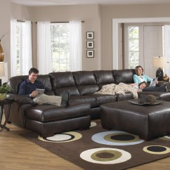 3 Piece Microfiber Sectional Sofa With Chaise French Set Uk Foresthill 5 Pc Design Ideas