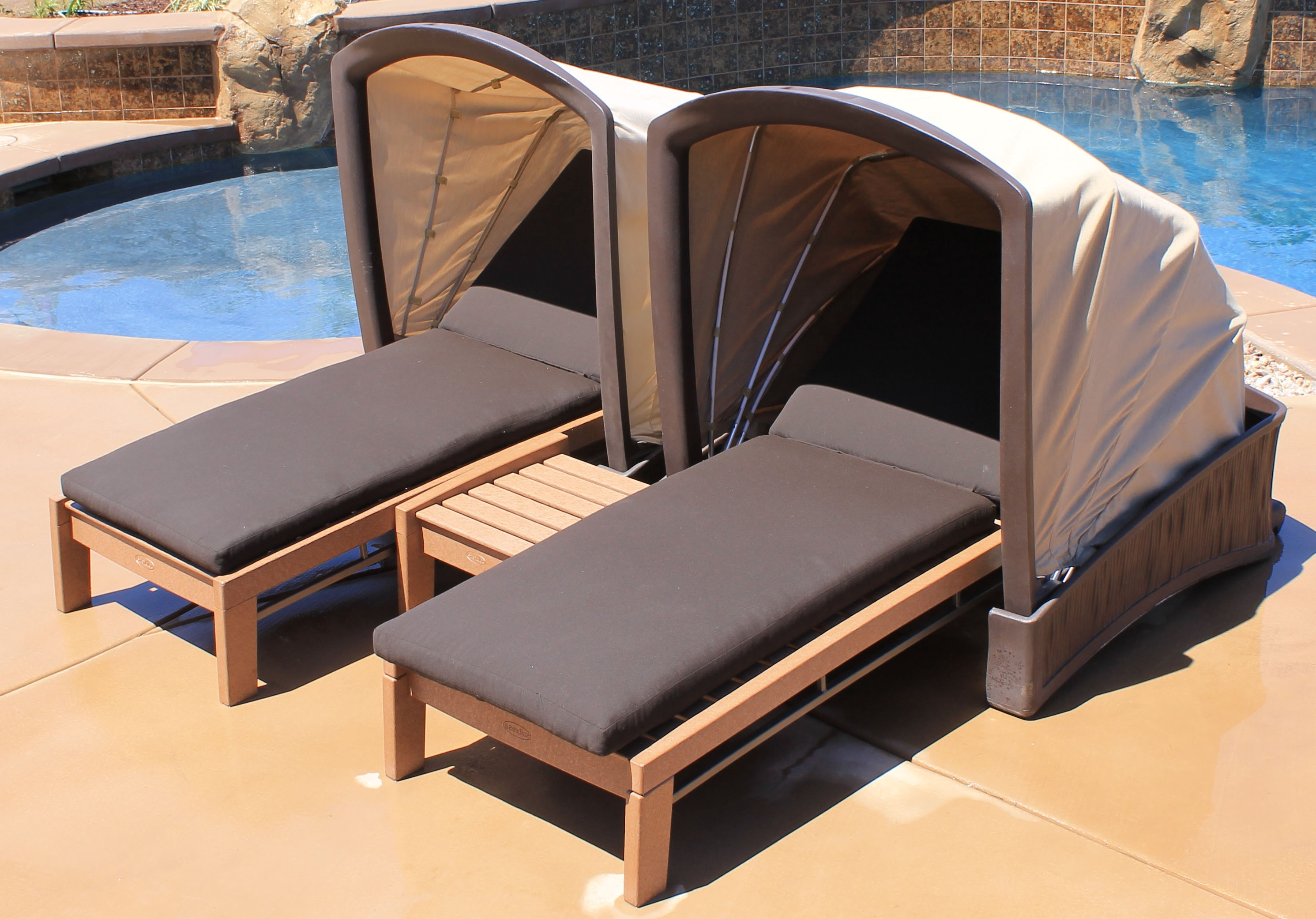 canopy daybed outdoor wicker sun sofa lounge twin lounger with droughtrelief org