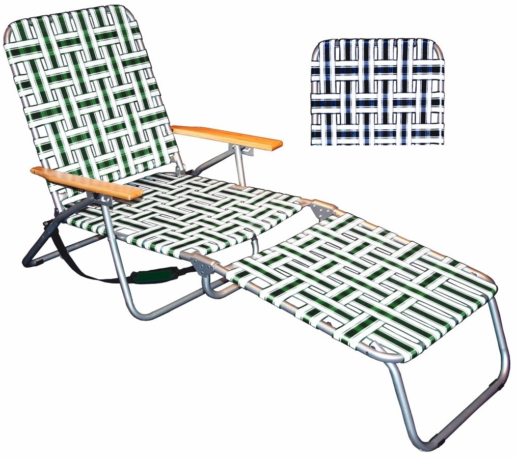 2019 Latest Folding Chaise Lounge Lawn Chairs