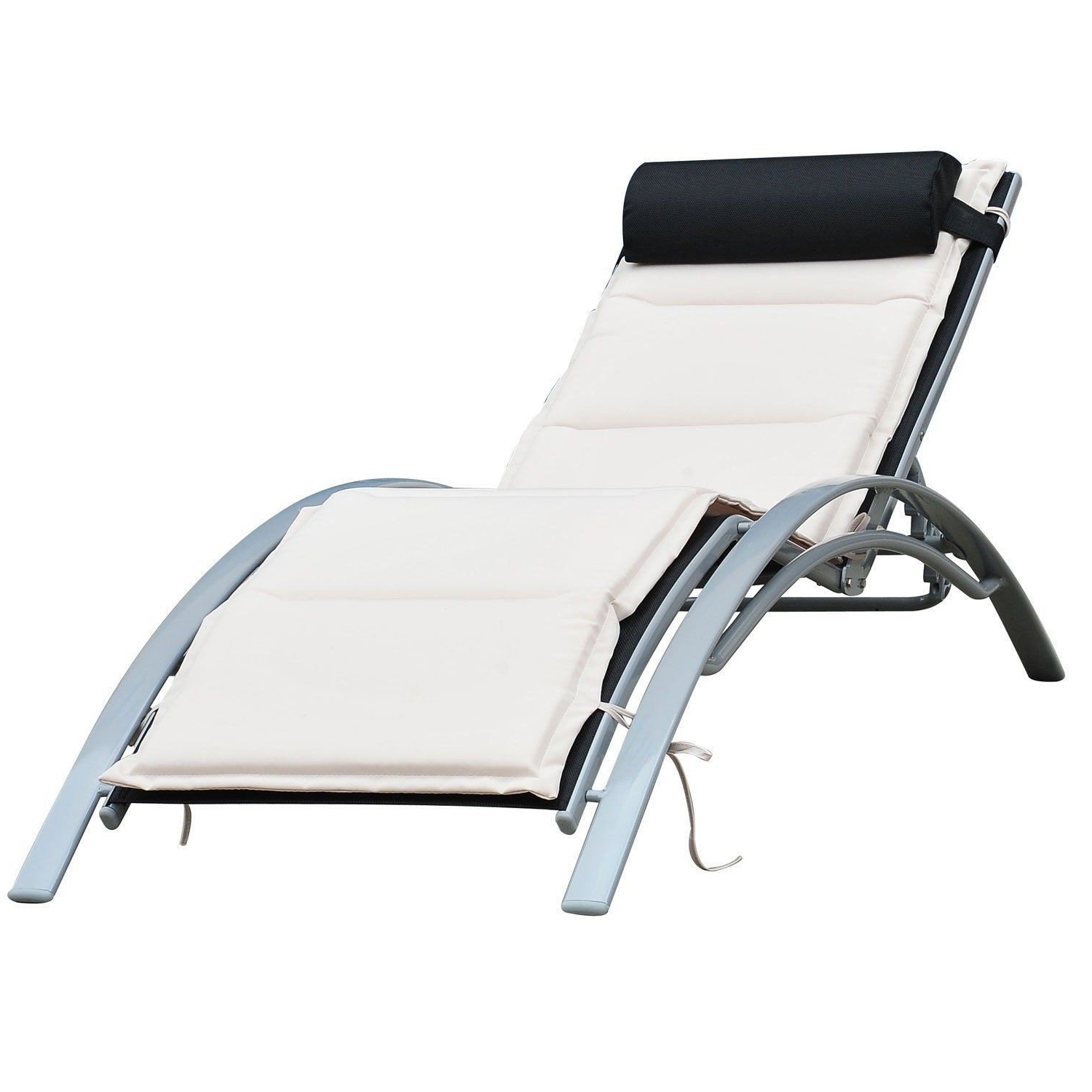 Top 15 of Chaise Lounge Reclining Chairs For Outdoor
