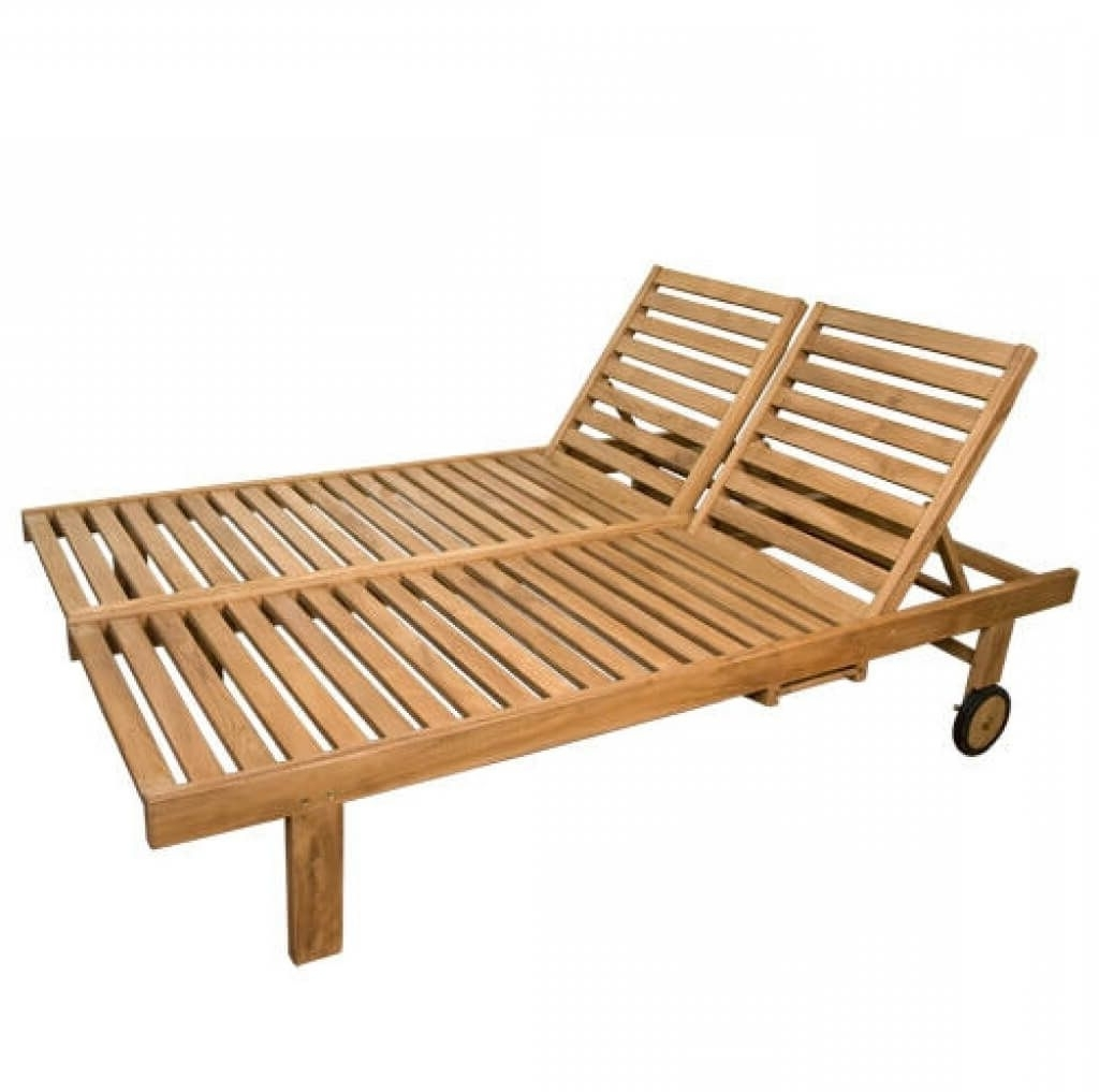 15 Inspirations of Wooden Outdoor Chaise Lounge Chairs