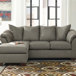 Ashley Cohes Sofa Chaise Sage Pillows 15 Best Collection Of Furniture Chaises Well Known Throughout Mentor Oh Store