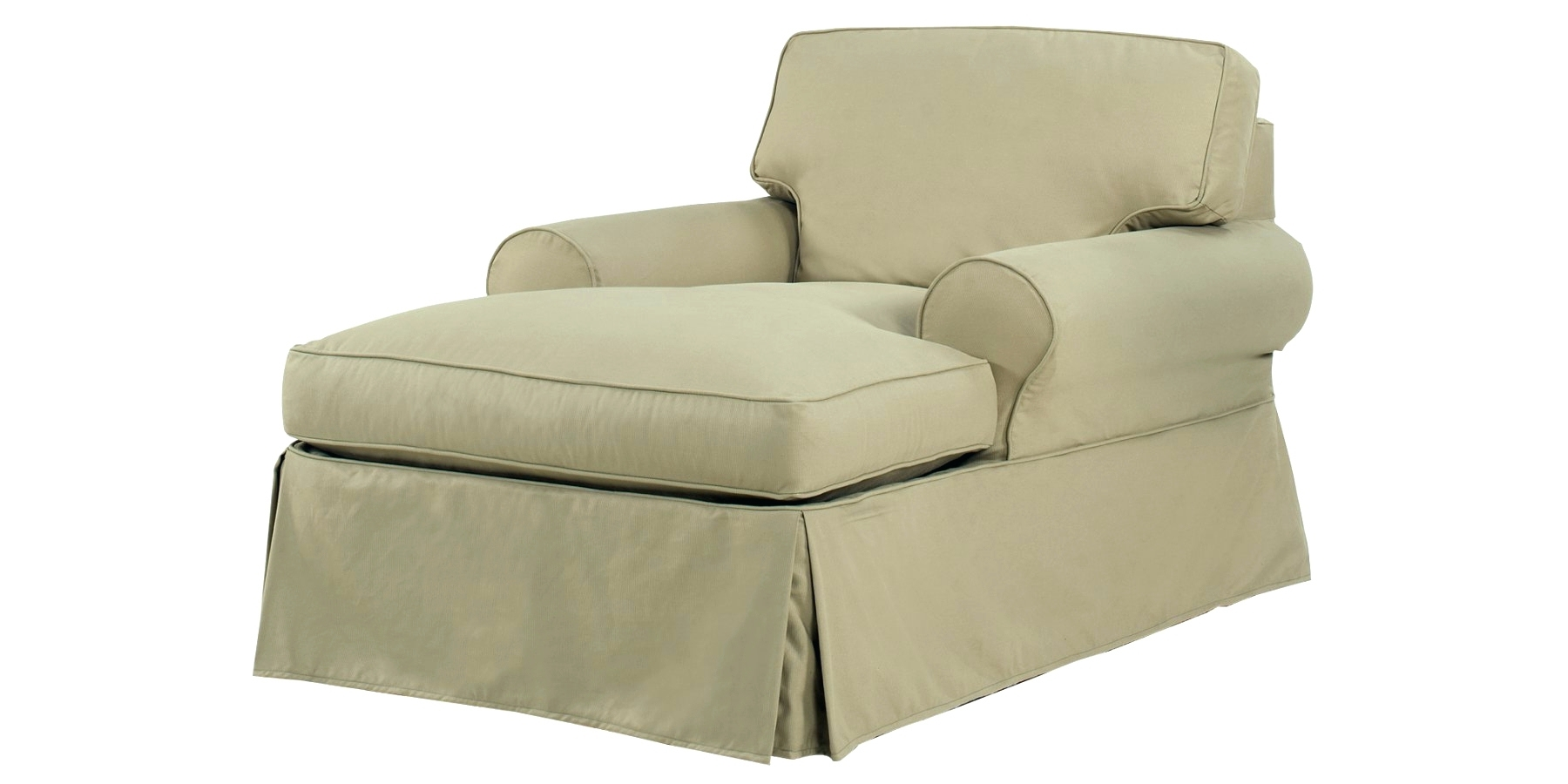 15 Ideas of Indoor Chaise Lounge Slipcovers