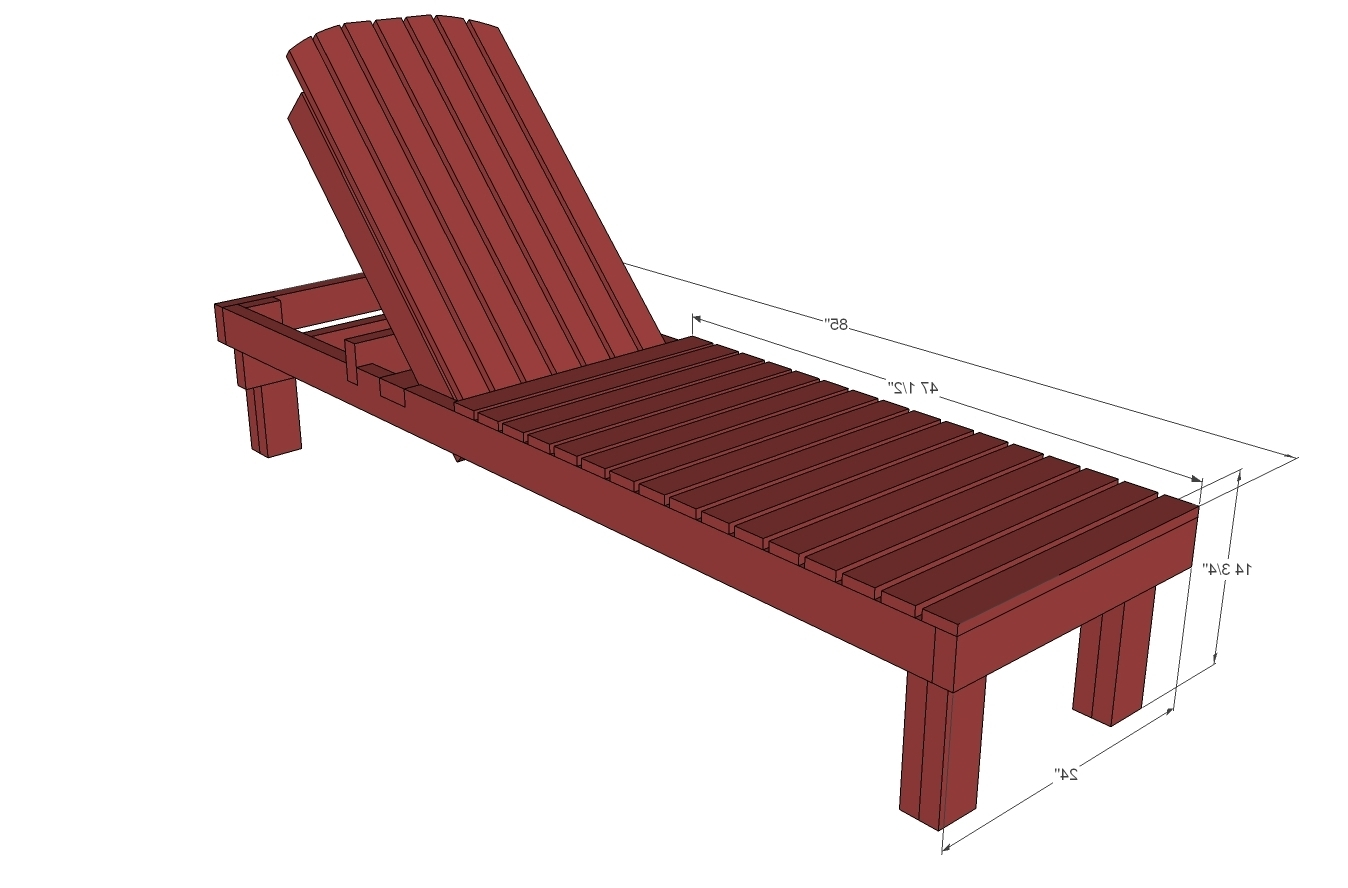 wooden lounge chair plans plastic stool lazada 15 inspirations of outdoor chaise chairs