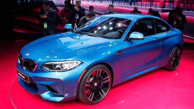 BMW at the Detroit auto show