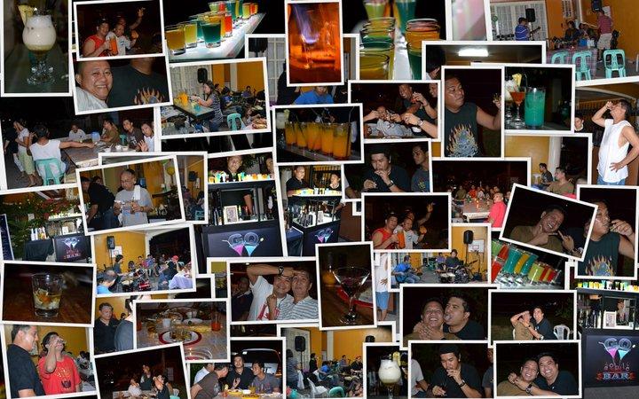 Birthday Celebration, Ms. Apryl Cinconiegue, Mobile Bar