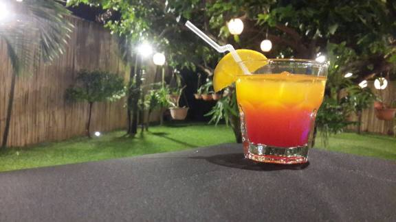 Cocktail (Alcoholic) - Tequila Sunrise