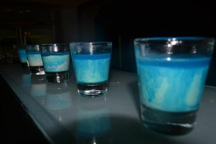 Alcoholic Shooter - Blue Shot