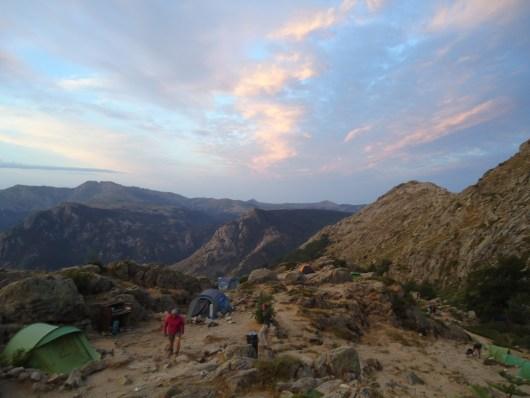 coucher soleil refuge usciolu