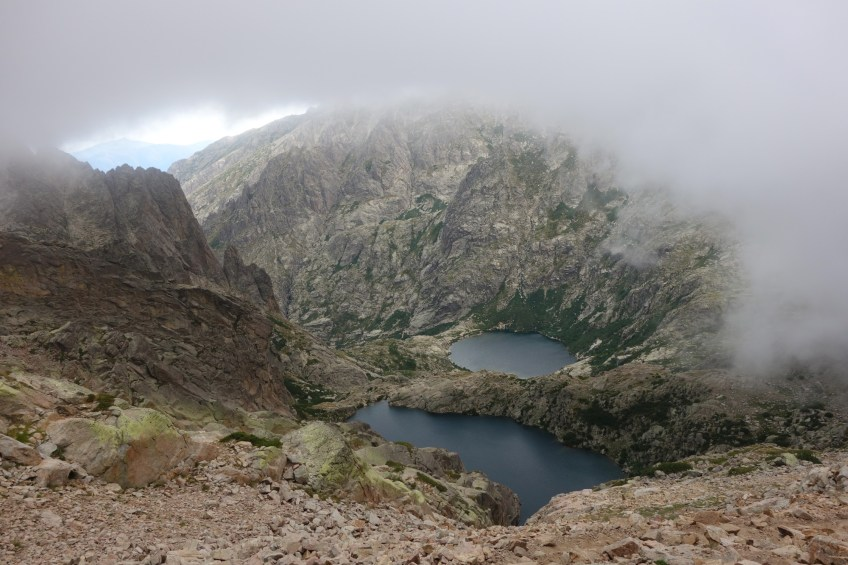 High altitude lakes - GR20 Northern Section