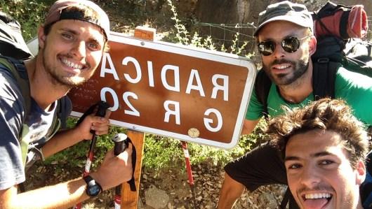 Lucas et ses amis sur le GR20 - de Calenzana à Conca