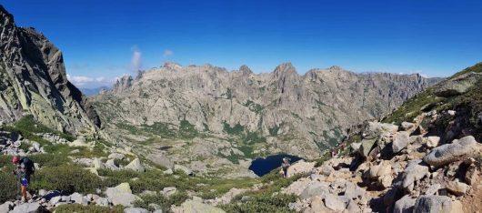 Les lacs du GR20 nord