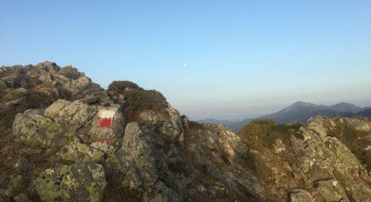 Die Bergkämme nach Usciolu - GR20