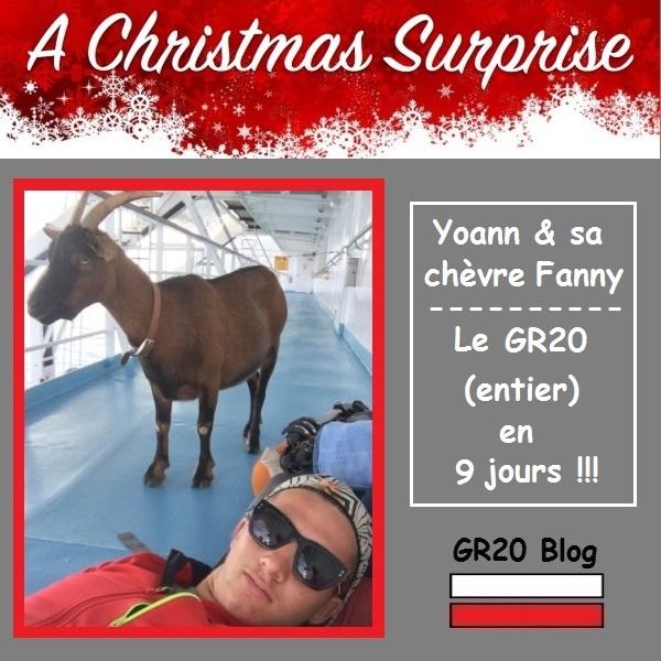 Yoann et sa chèvre Fanny - Le GR20 en 9 joursYoann et sa chèvre Fanny - Le GR20 en 9 jours