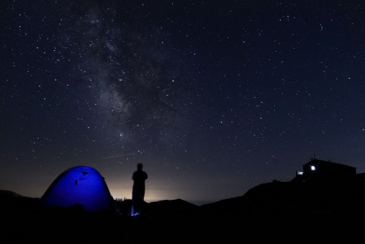 Night in mountains - Corsica - GR20