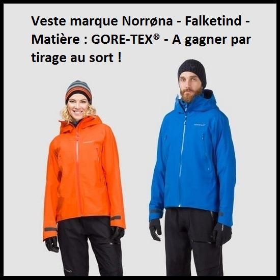 Jeu Instagram - Veste Norrøna GORE-TEX® à gagner