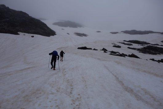 Snowfields GR20 Corsica