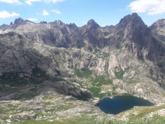 Lac de Génépi - GR20 nord