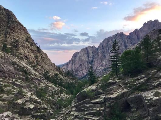 La beauté des paysages en Corse...