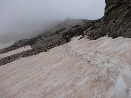Fonte de la neige - prudence