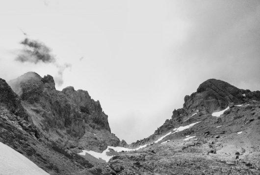 GR20 en noir et blanc