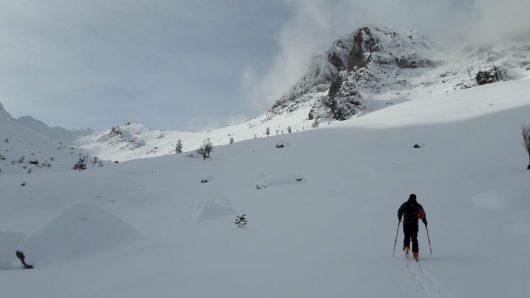 La Corse en hiver sous la neige