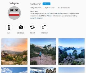 GR20 Instagram