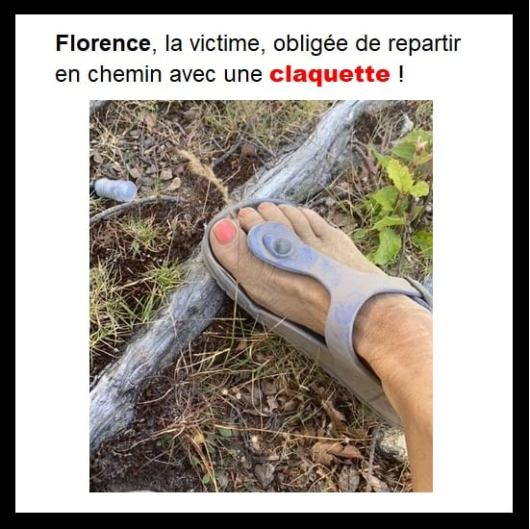 florence-victime-claquette