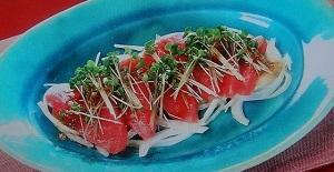 おはよう朝日です:マグロの刺身をトロにする方法のレシピ!マコさん