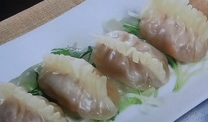 【男子ごはん】肉を使わない!海鮮炒り卵餃子のレシピ!