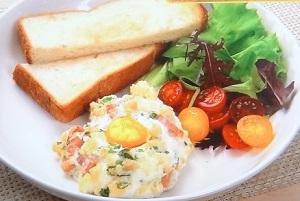 めざまし8:和田明日香さんのエッグスラットのレシピ!