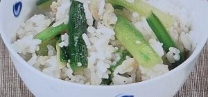 【ハナタカ】アスパラ混ぜごはんのレシピ!麺つゆとバターで簡単