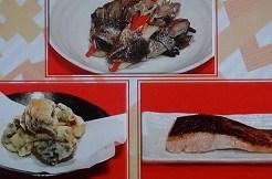 焼き鮭と鮭の皮のレシピ
