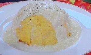 【ヒルナンデス】桝谷シェフ直伝!チーズオムライスのレシピ!大ヨコヤマクッキング