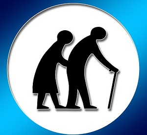 老人、介護