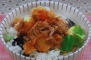 家事ヤロウ:カルディ「焼肉 ザ パンチ」のお取り寄せ!豚丼のレシピ:激ウマ調味料