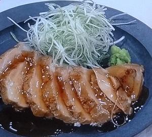 藤井恵の和風ゆで鶏のレシピ