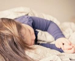 睡眠、風邪、病気、子供